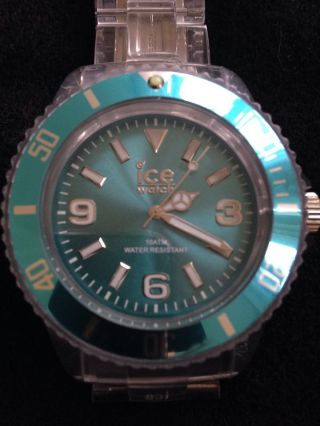 Ice Watch Uhr Pu.  Te.  B.  P.  12 Big Türkis Wie Bild
