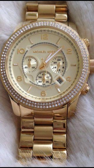 Michael Kors Uhr Mk5575 Gold Bild