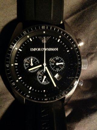 Armbanduhr Emporio Armani Mit Zwei Armbändern Ar0527 Bild