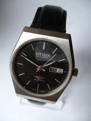 Rare Citizen Seven Eagle Black Eye,  Day Date Automatik,  Vintage, Bild