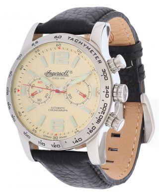 Ingersoll Herren Automatik Uhr Bowie Chronograph Schwarz In4606cr Bild