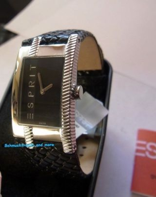 Esprit Armband Uhr,  Damen Uhr,  Houston Pure Black Links,  Modell Es103412002 Bild