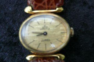 Alte Meisteranker Mechanische Damen Uhr Armbanduhr Damenuhr Wrist Watch Bild