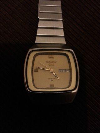 Seiko Automatik Uhr Bild