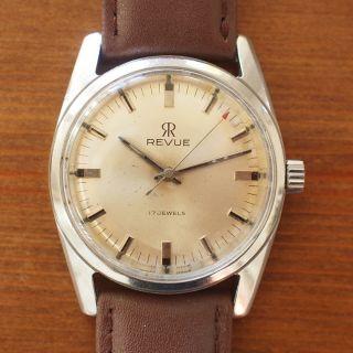 Revue Thommen Armbanduhr Schweizer Uhrwerk Manufaktur Herrenuhr Handaufzug Bild