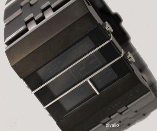 Diesel Herrenuhr / Herren Uhr Steel Digital Gunmetal Bild