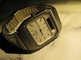 Seiko Quarz Herren - Armbanduhr Analog - Digital Bild