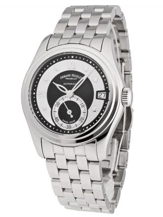 Armand Nicolet Mo3 Lady Automatik Date & Small Seconds 9155a - Nn - M9150 Bild