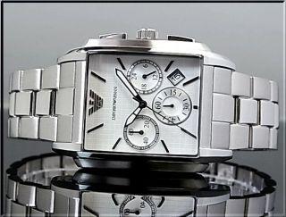 Armani Herrenuhr Ar0483 Uhr Herren Armbanduhr Mens Watch Uvp: 359€ Bild