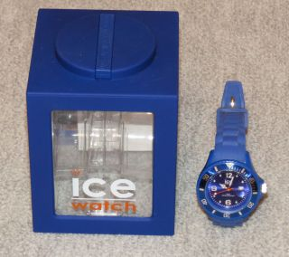 Ice Watch Uhr Ice - Forever - Blue - Small (si.  Be.  S.  S.  09) Bild