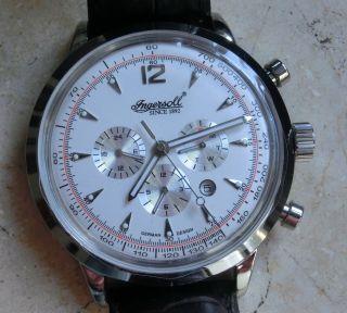 Markante Luxus Herren Automatic Armbanduhr Von Ingersoll, Bild