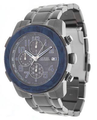 Guess Herren Armbanduhr Axle Chronograph Anthrazit W22522g2 Bild