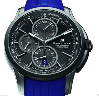 Org Maurice Lacroix Pontos Chronograph Full Black