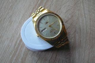 Citizen Armbanduhr Automatik Gold Sehr Elegant Top Bild