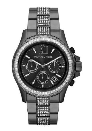 Michael Kors Damen - Armbanduhr Chronograph Quarz Edelstahl Beschichtet Mk5829 Bild