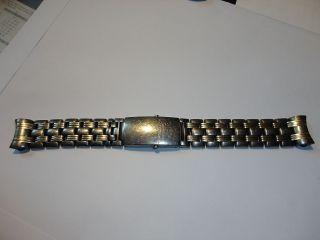 Uhrenarmband Omega Seamaster Professional Titan - Gold Von Einer Limit Edition Bild