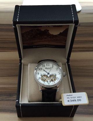 Ingersoll Herrenuhr Limited Edition Astor In 3101 Wh Uvp 349€ Bild