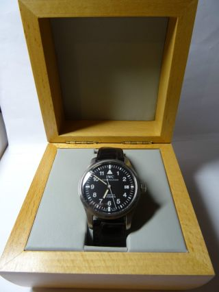 Iwc Fliegeruhr Mark Xv Automatic Armbanduhr Für Herren Mod.  Nr.  3253 Bild
