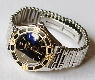 Breitling Lady J Class D52065 Mit Stahl Gold Rolleaux Band Bild