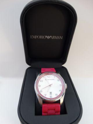 Emporio Armani Damenuhr Pink Bild