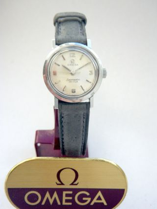 Vintage Omega Seamaster De Ville Damenuhr Cal 630 Ladies Wristwatch Bild