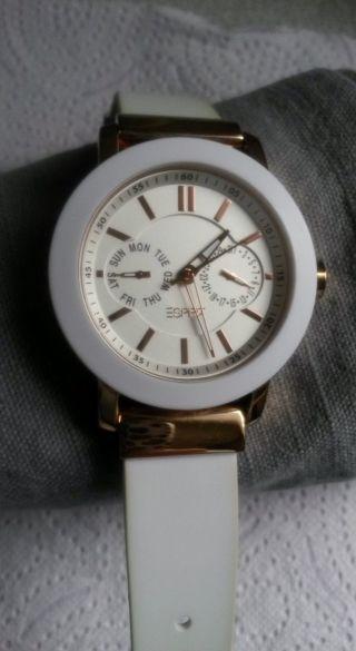 Damen - Uhr Esprit,  Weiss/rosegold Bild