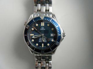 Omega Seamaster Professional 300 M Diver Automatik Chronometer Bild