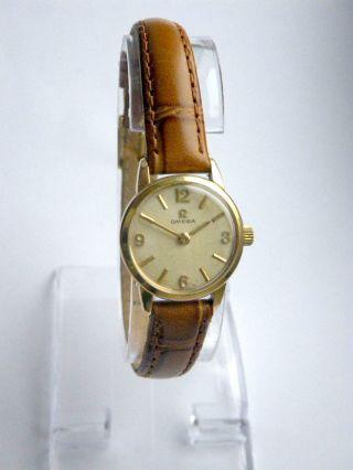 Vintage Omega Damenuhr Cal 620 Ladies Wristwatch Damenarmbanduhr Bild