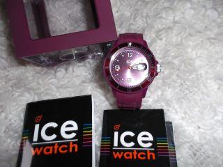 Ice Watch,  Unisex,  Lila,  Wie Mit Anleitung U.  Verpackung Bild