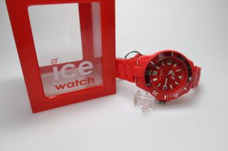 Ice Watch Cs.  Rd.  B.  P.  10 Big Herren Uhr Damen Red Big Bild