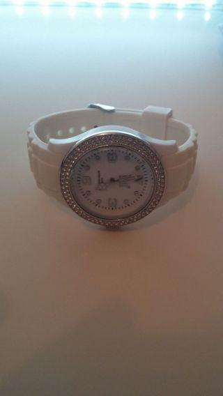 Ice Watch Weis Mit Swarovski Elementen Bild