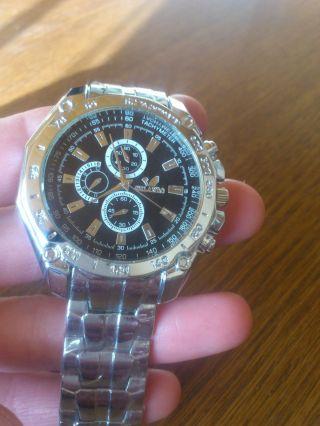 Herren Armbanduhr Edelstahl Bild