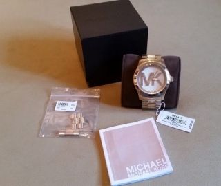 ☆ Michael Kors Damen Uhr Gold Mk5473 Np $225,  00 Weihnachten 2014☆ Bild
