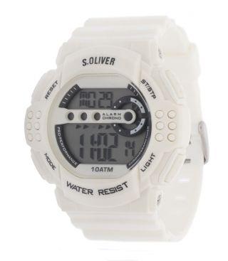 S.  Oliver Herren Armbanduhr Weiß So - 2634 - Pd Bild