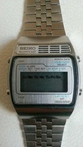 Seiko A159 - 4029 - G Vintage Lc Quartz Selten 1978 James Bond Uhr?? Bild