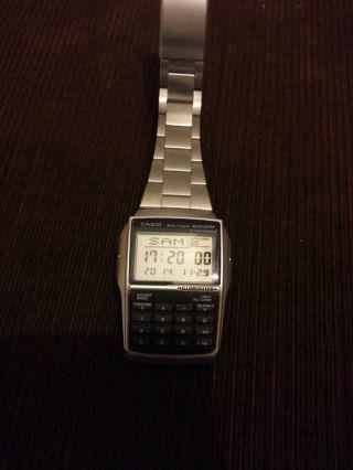 Casio Digital Rechner Uhr Bild