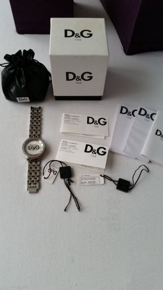 Dolce & Gabbana Prime Time Edelstahl Damenuhr Farbe Silber Bild