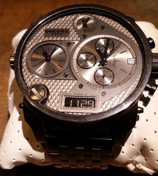 Diesel Dz7247 Chronograph Armbanduhr Für Herren Xxl Mega Mit Restgarantie Bild