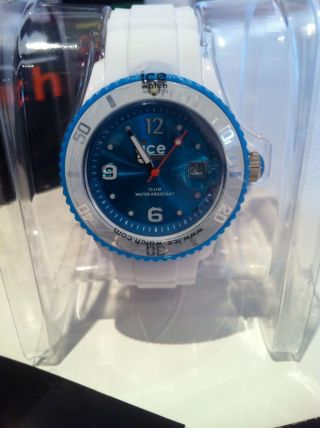Ice Watch Chrono Weiss TÜrkis Bild