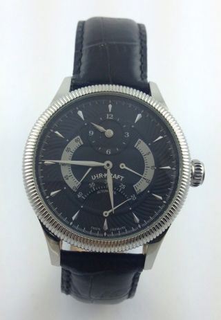 Uhr - Kraft - Uhr - Modell 11911 - 2a - Automatik - Made In Germany Bild