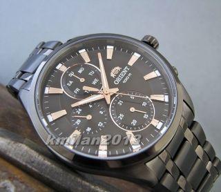 Orient Uhr Classic Edelstahl Herrenuhr Mit Tag&datum Japan Wr: 100 M Fuy00003b0 Bild