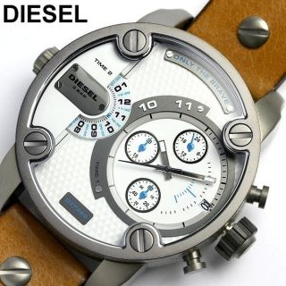 Diesel Xl Herrenuhr Chronograph Armbanduhr Little Daddy Dz7269 Bild