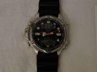 Citizen Promaster Armbanduhr Taucheruhr Modell Jp1010 - 00e Bild