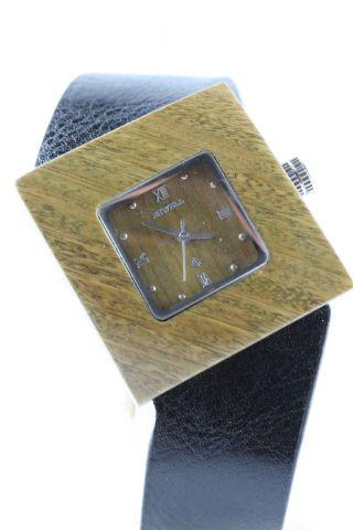 Bewell Holzuhr,  Damenuhr,  Armbanduhr,  Geschenk,  Holzarmbanduhr Bild