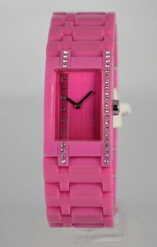 Esprit Damenuhr Es103562002 Houston Funky Star Pink Bild