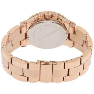 Michael Kors Unisex Uhr Mk5314 Chronograph Rosegold Damen Herren Uhr Bild