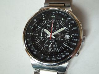 Sportlicher Citizen Promaster Chronograph Black Edition Bild