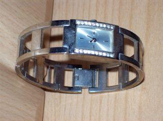Armbanduhr Damen Uhr Avon Klunker Strass Stainless Blingbling Metall - Armband Bild