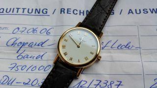 Chopard Classique Classic 18k Gold Ref: 12/7387 Damenuhr Bild