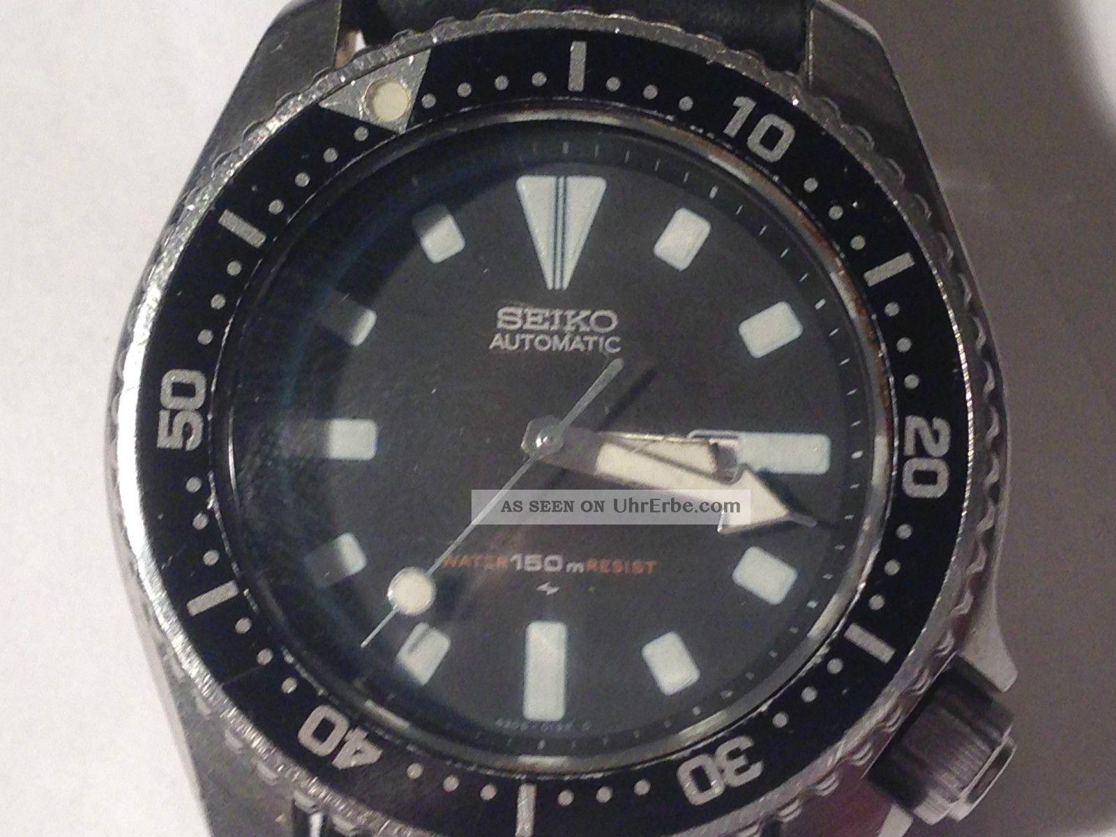 Seiko Herren Automatik Uhr Taucher Armband wkXZN8POn0